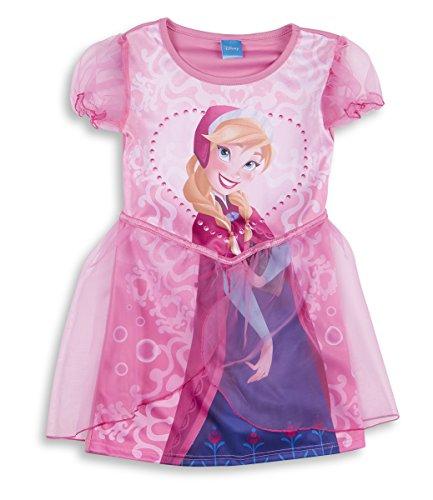 Disney Princess Frozen Niñas Elsa Anna para disfraz Cenicienta Sofía rosa Anna 3-4 años