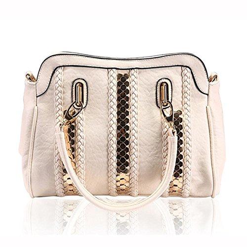 GBT Handtasche diagonal Paket fashion casual Schultertasche Damen Tasche Beige