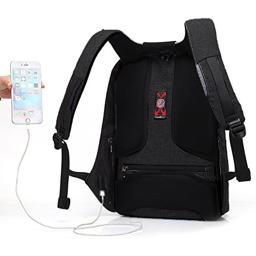 Business Laptop Backpack With Anti Thief Zipper And Usb