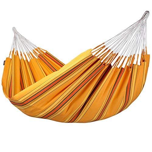 LA SIESTA - Currambera Apricot - Klassische Doppel-Hängematte aus Baumwolle