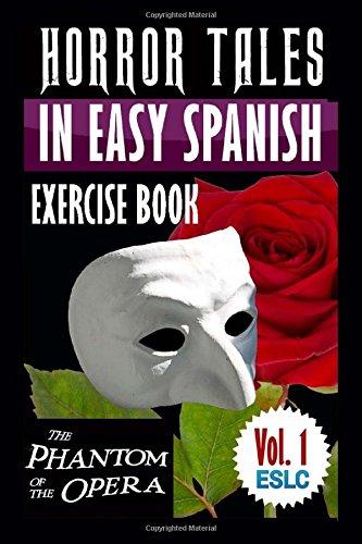 Portada del libro Horror Tales in Easy Spanish Exercise Book: