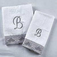 Juego de toallas de rizo bordado