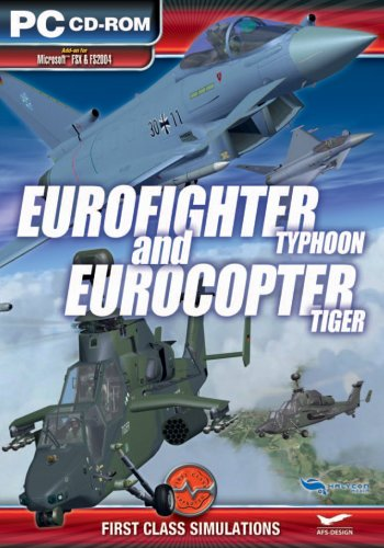 First Class Simulations Eurofighter Typhoon and EuroCopter Tiger Add-On for Microsoft FSX and FS 2004 [UK Import]
