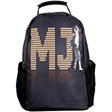Belomoda 3D Michael Jackson Theme Printed 20 Ltrs Trendy Casual College Backpack cum Laptop Backpack