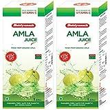 Baidyanath Amla Juice| Natural Immunity Booster | No added Sugar - 1 L (Pack of 2)