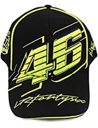 Valentino Rossi VR46 casquette de Baseball de Logo Moto GP noir officiel 2016