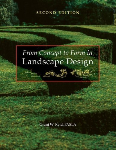From Concept to Form in Landscape Design by Grant W. Reid (2007-08-03)
