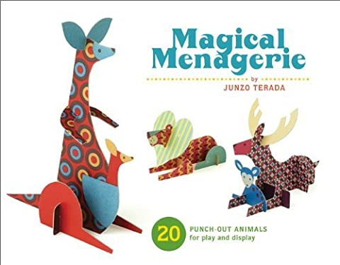MAGICAL MENAGERIE: 20 PUNCH-OUT ANIMALS FOR PLAY AND DISPLAY [Magical Menagerie: 20 Punch-Out Animals for Play and Display ] BY Terada, Junzo(Author)Other 01-Oct-2009