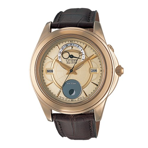 Citizen Analog Gold Dial Men's Watch - BU0003-02P