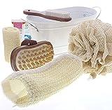 Dekorative Geschenksets für Bad oder Sauna mit Badezubehör, Saunazubehör, Kosmetex Bade- und Pflegeset, Set 5