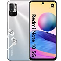 "Xiaomi Redmi Note 10 5G Smartphone + Kopfhörer (16,51cm (6,5"") FHD+ Display, 64GB Speicher, 4GB RAM, 48MP Triple…"