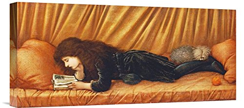 Global Galerie Budget gcs-264646-55,9-360,7cm Sir Edward burne-jones Katie Lewis Galerie Wrap Giclée-Kunstdruck auf Leinwand Art Wand -
