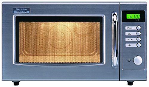 Sharp R-15AM Micro-ondes 28 L Argent