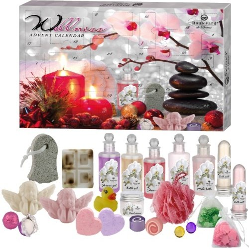 Super Wellness Adventskalender Sweet Rose Beauty Surpris 24 teilig (e673) WoW