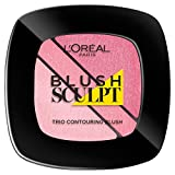 L'Oréal Paris Infaillible Sculpt Trio Contouring Blush, 101 Soft Rosy immagine