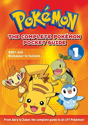 The Complete Pokemon Pocket Guide: Vol. 1 by Media (2008-10-14)