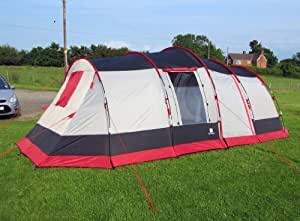 OLPro The Martley 6/8 Berth Family Tent With sewn In Groundsheet