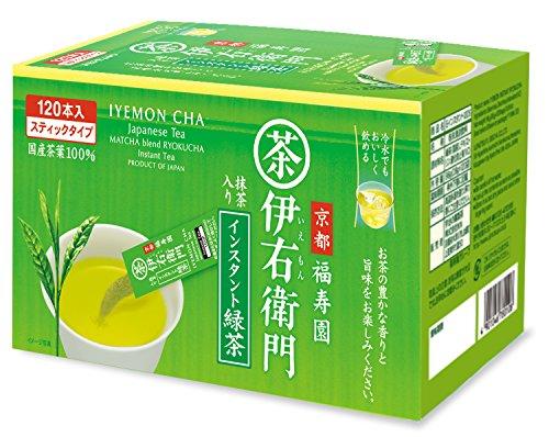 iyenon grün Tee, Instant grün Tee 0,8g x 120nihoncha (Itoen Grüner Tee)