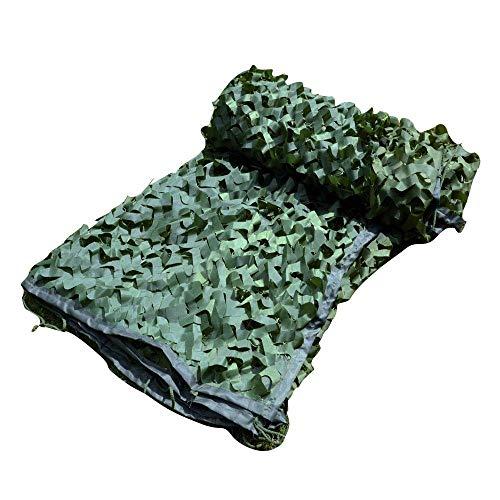 BEAUTY--planen Tarnung Sonnenschirm Tarnnetze Leichtgewicht Militär Jagdschießen Ausblenden Camo Nets Armee Unter Dem Motto Dens Build (Size : 5x8m) -