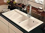 Villeroy & Boch Subway 60 XR Weiß (alpin) Keramik-Spüle Spülbecken Auflagespüle