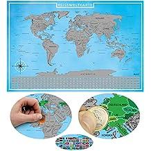 Suchergebnis Auf Amazon De Fur Rubbel Weltkarte Klein Blupalu