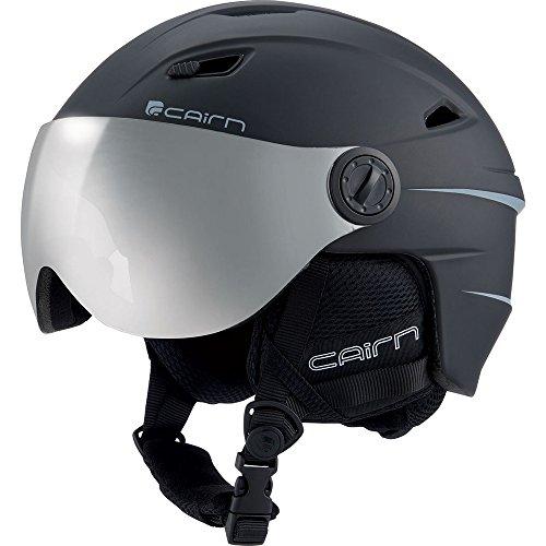 CAIRN - Electron Visor Casque - Noir Mat - 59/60 - Noir Mat