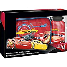 Cars - Set lunch bag con cantimplora (Kids Euroswan WD17875)