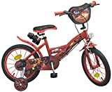 Toimsa - 1691 - Vélo pour Fille - Ladybug - 16' de 5 à 8 Ans