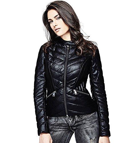 Guess Damen Jacke Schwarz schwarz Gr. L, schwarz