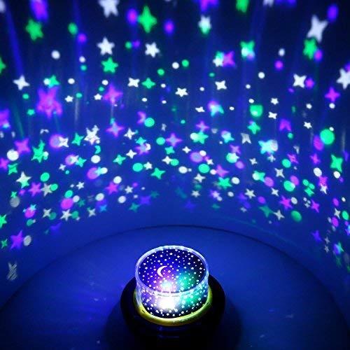 OxyLED Disco Projektor Lichter,Disco Partei Lichter für Kinder,verbesserte Partei Röhrenblitz Lichter,LED Stadiums Lichter für Halloween,Geburtstag,Parteien, Dekoration Hochzeits Feier,Weihnachten