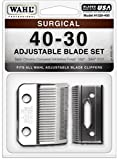 Wahl-Professional-Animal-Standard-Adjustable-Replacement-Blade-Set,-40-30-Surgical-#1026-400