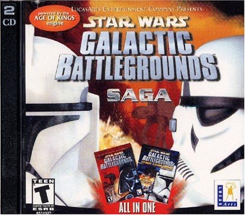 Star Wars: Galactic Battlegrounds Saga - (PC CD) by LucasArts