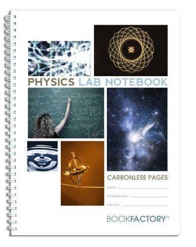 BookFactory kohlenstofffreien Biologie Lab Notebook–25Seiten (21,6x 27,9cm) (Duplikator)–Scientific Grid Seiten, langlebig transluzent, Wire-O-Bindung Carbonless 8 1/2