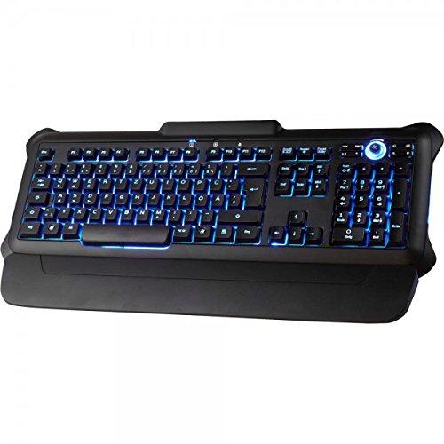 Tastiera, Perixx PX-1100, tastiera retroilluminata, Gaming Style, USB, nero