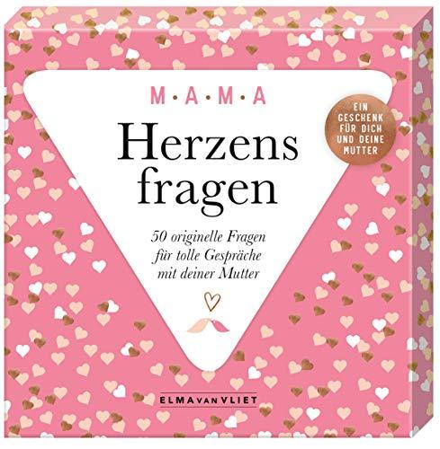 Cover des Buches Herzensfragen MAMA: 50 originelle Fragen für tolle Gespräche mit deiner Mama