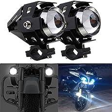 Guance 3000LM CREE U5 LED Front Motorcycle Driving Fog Spot Light for Bajaj Dominar 400 (20170907371)