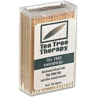 Tea Tree Therapy Zahnstocher Ttree Und Minze 100 CT
