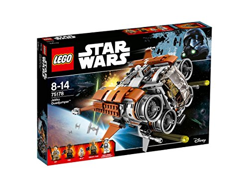 LEGO - 75178 -  Star Wars - Jeu de Construction - Le Quadjumper de Jakku
