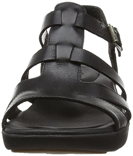 Timberland Branford Fisherman Damen Peeptoes Nero