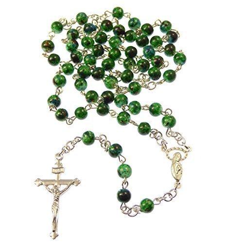 rosario-collar-plateado-con-cuentas-de-cristal-de-color-verde-estilo-canica-de-6mm-religion-cristian