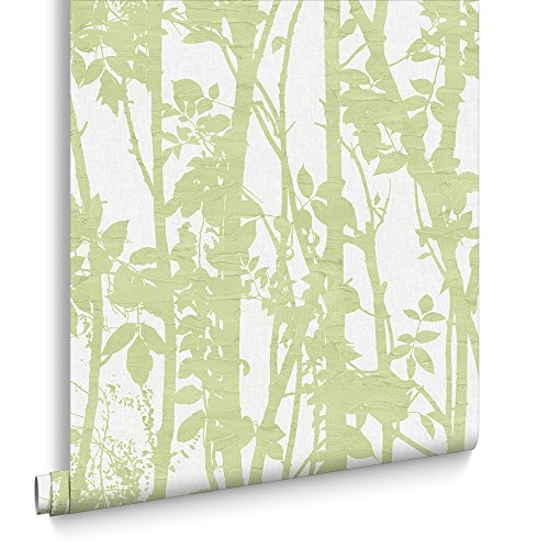 fresco-great-value-fabric-branches-green-wallpaper-50-834