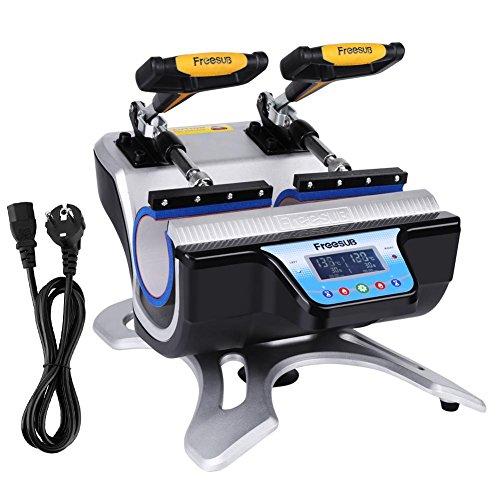 GOTOTOP ST-210 Automatische Doppelstationen Becher Becherpresse Tassenpresse Transferpresse Hitzepresse Sublimation Transferdruck T- Shirt Presse
