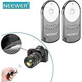 Neewer–RC-6control remoto de IR Inalámbrico Disparador Para Canon EOS Cámara (2unidades)