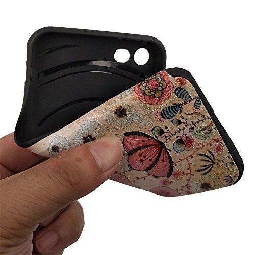 2x iPhone 7 Plus Hülle, BENKER Hohe Qualität Kreativ Anti-Kratz Nicht Verblassen TPU Silikon Matte Telefon Fall - SET-2 Unterwasserwelt