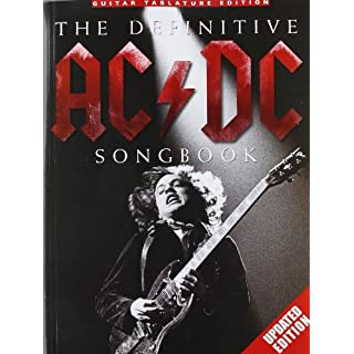 The Definitive AC/DC Songbook -Updated Edition-: Songbook für Gitarre