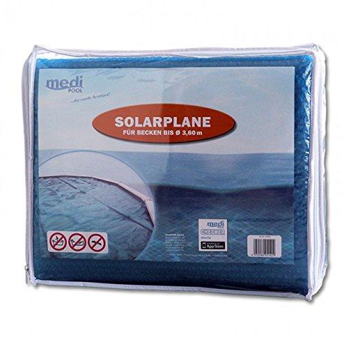 Solarplane für Schwimmbecken Ø 3,50m bis max. 3,60m von mediPOOL