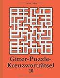 Gitter-Puzzle-Kreuzworträtsel 10 - Anna Lukas