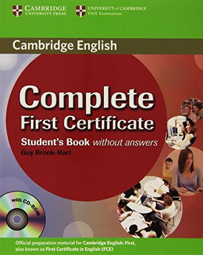 Complete First Certificate Student's Book with CD-ROM: 0