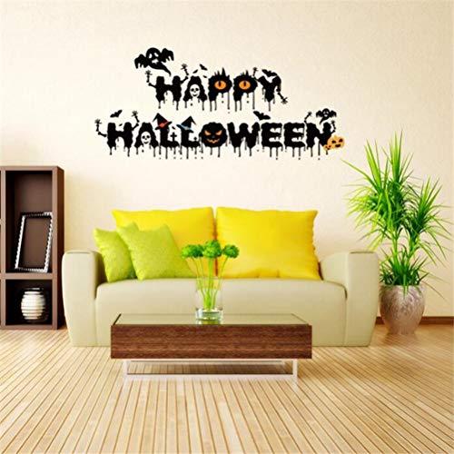 Wandtattoo Wohnzimmer Halloween Crow Devil Decor Decals für Wall Decal für Mädchen Schlafzimmer