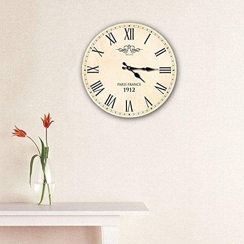 Walplus Horloge murale Vintage Paris France 1912